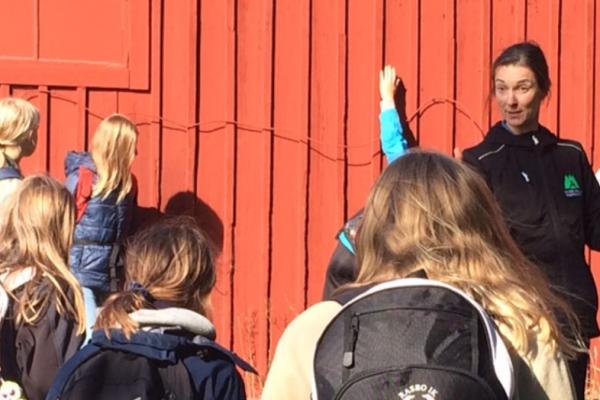 Helena Bengtsson är Regionsamordnare för Skogen i Skolans Region Mälardalen