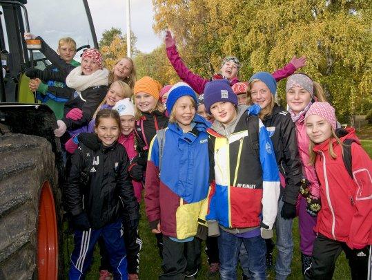 Jorden och Skogen i Stan - lockar många av länets skolklasser !