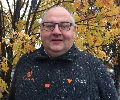 Bjørn Helge Bjørnstad, seniorprojektledare på Laere om skogen, Norges motsvarighet till Skogen i Skolan