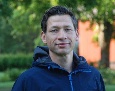 Daniel Thorell, skogskonsulent på Skogsstyrelsen och regionsamordnare för Skogen i Skolans region Västra Götaland