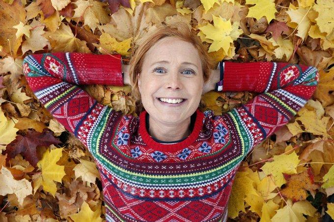 Jenny Järvholm, författare till boken Tall och gran