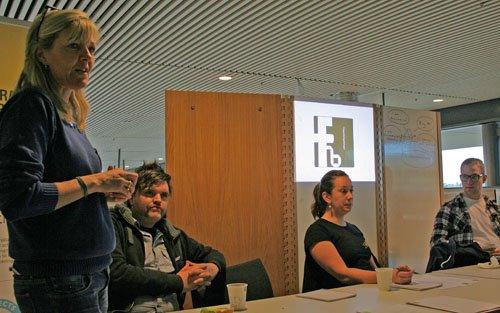 Projektet Kunskapsgatan på Karlstad Universitet