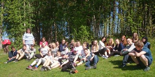 Årskurs 7, Lidens skola, vann Skogens Mästare 2015 i Region Västernorrland