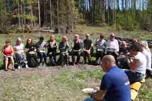 Studie- och yrkesvägledare från Stockholms stad fick veta mer om skogssektorns möjligheter