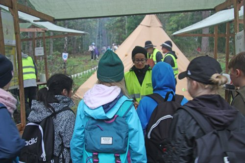Skogen i Skolan medverkade på Bonden i skolan på Berga