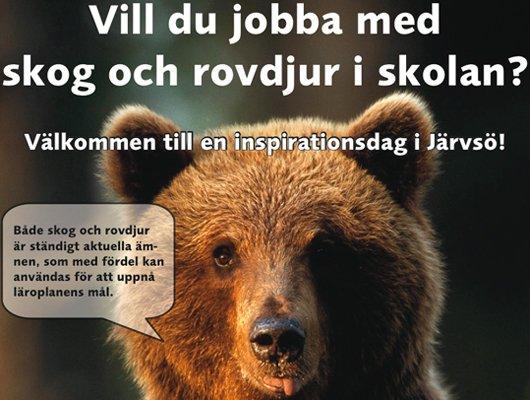 Inspirationsdag för lärare i Järvsö