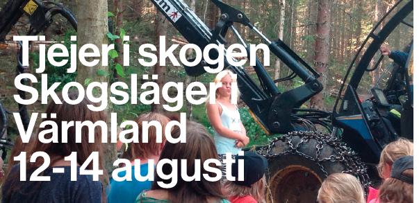 Tjejer i skogen - skogsläger för tjejer i Värmland