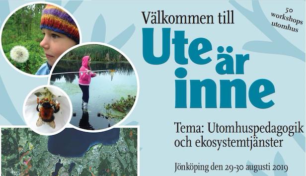 Utenavet arrangerar Ute är inne 2019 i Jönköping