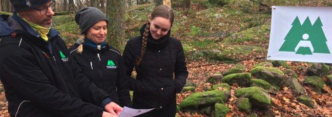 Regionsamordnare i Skogen i Skolan ordnar inspirationsdagar för lärare och aktiviteter för elever