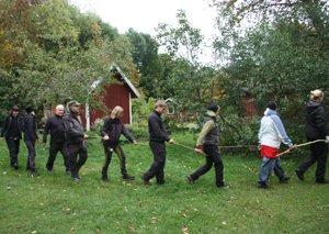 Kurs i utomhuspedagogik på Sixtorps friluftsgård