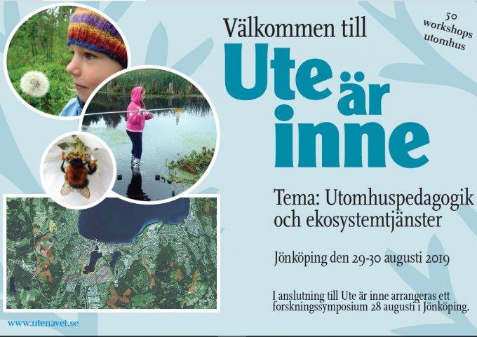 Ute är inne i Jönköping 29-30 augusti 2019