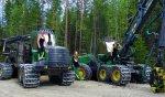 Paljakka-laget - tjejer om kör skogsmaskiner