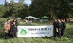 Personal från Skogen i Skolan Mälardalen deltog på aktiviteten Bonden i skolan