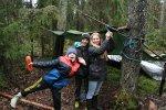 Genom Skogen i Skolan kan lärare hålla lektioner utomhus